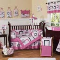 Geo Crib Bedding Set, Baby Girl Crib Bedding | Girl Crib Bedding Sets | ABaby.com