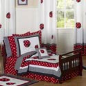 Little Ladybug Toddler Bedding Set, Frogs And Bugs Themed Nursery | Frogs And Bugs Bedding | ABaby.com