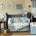 Mod Dots Crib Bedding Set, Boy Crib Bedding | Baby Crib Bedding For Boys | ABaby.com