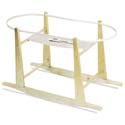 Moses Basket Stand, Baby Baskets For Girls | Girls Moses Baskets | ABaby.com