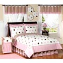 Mod Dots Twin Bedding, Twin Bed Bedding | Girls Twin Bedding | ABaby.com