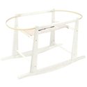 Moses Basket Stand, Neutral Baby Baskets | Newborn Moses Basket | ABaby.com