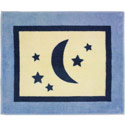 Stars and Moons Floor Rug, Baby Bath Essentials | Kids Bath Accessories | ABaby.com