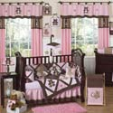 Teddy Bear Crib Bedding Set, Baby Girl Crib Bedding | Girl Crib Bedding Sets | ABaby.com