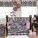 Zebra Crib Bedding Set, Baby Girl Crib Bedding | Girl Crib Bedding Sets | ABaby.com