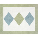 Argyle Rug, Novelty Rugs | Cheap Personalized Area Rugs | ABaby.com