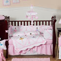 Ballerina Crib Bedding Set, Prima ballerina Themed Bedding | Baby Bedding | ABaby.com