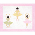 Ballerina Accent Rug, Novelty Rugs | Cheap Personalized Area Rugs | ABaby.com