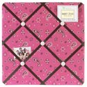 Pink Bandana Memo Board, Wild West Nursery Decor | Wild West Wall Decals | ABaby.com