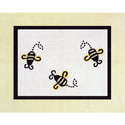Bumble Bee Accent Floor Rug, Novelty Rugs | Cheap Personalized Area Rugs | ABaby.com