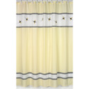Bumble Bee Shower Curtain, Baby Bath Essentials | Kids Bath Accessories | ABaby.com
