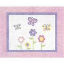 Dancing Butterfly Accent Rug, Novelty Rugs | Cheap Personalized Area Rugs | ABaby.com