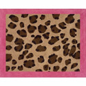 Cheetah Pink Accent Rug