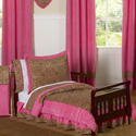 Cheetah Pink Toddler Bedding Collection, Girl Toddler Bedding Sets | Toddler Girl Bedding | ABaby.com