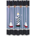 Come Sail Away Shower Curtain, Kids Shower Curtains | Shower Curtain | ABaby.com