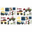 Construction Wall Decals, Kids Wall Decals | Baby Room Wall Decals | Ababy.com