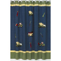 Construction Shower Curtain, Kids Shower Curtains | Shower Curtain | ABaby.com