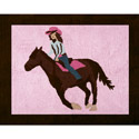 Cowgirl Accent Rug, Novelty Rugs | Cheap Personalized Area Rugs | ABaby.com