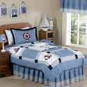 Come Sail Away Twin Bedding, Nautical Themed Nursery | Nautical Bedding | ABaby.com