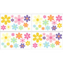 Daisy Wall Decal, Kids Wall Decals | Baby Room Wall Decals | Ababy.com