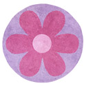 Daniella's Daisy Accent Rug, Novelty Rugs | Cheap Personalized Area Rugs | ABaby.com