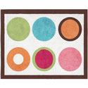 Deco Dot Accent Rug, Novelty Rugs | Cheap Personalized Area Rugs | ABaby.com