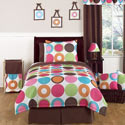 Deco Dot Twin/Full Bedding, Twin Bed Bedding | Girls Twin Bedding | ABaby.com