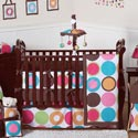 Deco Dot Crib Bedding, Baby Girl Crib Bedding | Girl Crib Bedding Sets | ABaby.com