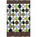 Designer Dot Shower Curtain, Kids Shower Curtains | Shower Curtain | ABaby.com