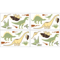 Dinosaur Land Wall Decal, Kids Wall Decals | Baby Room Wall Decals | Ababy.com