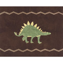 Dinosaur Land Accent Rug, Baby Bath Essentials | Kids Bath Accessories | ABaby.com