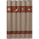 Dinosaur Land Shower Curtain, Kids Shower Curtains | Shower Curtain | ABaby.com