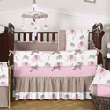 Elephant Crib Bedding Set, African Safari Themed Bedding | Baby Bedding | ABaby.com