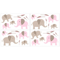 Elephant Wall Decal, Kids Wall Decals | Baby Room Wall Decals | Ababy.com
