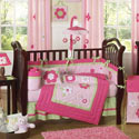 Fantastic Flower Crib Bedding Set, Baby Girl Crib Bedding | Girl Crib Bedding Sets | ABaby.com