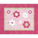 Fantastic Flower Accent Rug, Baby Bath Essentials | Kids Bath Accessories | ABaby.com