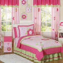 Fantastic Flower Twin/Full Bedding, Twin Bed Bedding | Girls Twin Bedding | ABaby.com