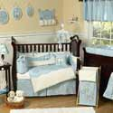 Go Fish Crib Bedding, Tropical Sea Themed Bedding | Baby Bedding | ABaby.com