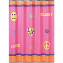 Groovy Girl Shower Curtain, Kids Shower Curtains | Shower Curtain | ABaby.com