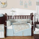 Hayden Crib Bedding Collection, Boys Crib Bedding Sets - Crib Sets for Boys with Sheets & Bumpers