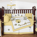 Honey Bee Crib Bedding Collection, Gender Neutral Baby Crib Bedding Sets - aBaby.com