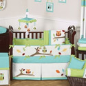 Hooty Crib Bedding Collection, Baby Girl Crib Bedding | Girl Crib Bedding Sets | ABaby.com
