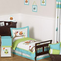 Hooty Toddler Bedding Collection, Toddler Bedding Sets For Boys | Toddler Bed Sets | ABaby.com
