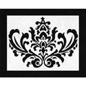 Isabella Damask Accent Rug, Novelty Rugs | Cheap Personalized Area Rugs | ABaby.com