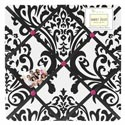 Isabella Damask Memoboard, Kids Bedroom Decor | Clocks | Baby Picture Frames | ABaby.com