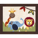 Jungle Time Accent Rug, Nursery Rugs | Baby Area Rugs | Baby Room Rugs | ABaby.com