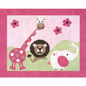 Jungle Friends Accent Rug, Novelty Rugs | Cheap Personalized Area Rugs | ABaby.com