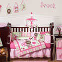 Jungle Friends Crib Bedding, Baby Girl Crib Bedding | Girl Crib Bedding Sets | ABaby.com