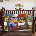 Jungle Time Crib Bedding, African Safari Themed Bedding | Baby Bedding | ABaby.com