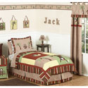 Monkey Twin/Full Bedding, Boys Twin Bedding | Twin Bedding Sets | ABaby.com
